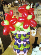 More Elborate Balloon Sculpture, or balloon art and decorations by Mark Clark