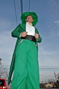 St. Patricks day on Stilts